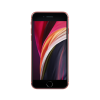 Red Apple iPhone SE 128GB front of the phone