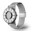 Side view of a stylish tactile watch
