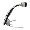 An upright Transformer HD portable magnifier camera solution