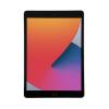 Space Grey Apple iPad 8th Gen 128GB front of tablet in portrait