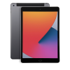 Space Grey Apple iPad 8th Gen 128GB front and back shown