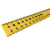 Close up of the first half of the ruler showing centimeter markings
