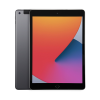 Space Grey Apple iPad 8th Gen 128GB showing front and back