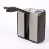 Side view of an Optelec ClearReader+ Portable ImageReader with arm extended