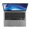 Space Grey MacBook Air 512GB closed showing Apple logo.'
