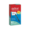 Pack of 12 Berol colour broad markers