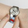 A child wearing the children's watch