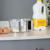 Jug in use on a kitchen counter top with milk and eggs