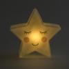 Star night light glowing in the dark