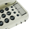 Close up of the Geemarc Dallas 10 big button corded phone