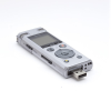 Front facing Olympus DM-770 voice recorder with visible USB port