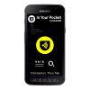 Samsung Galaxy Xcover 4s with In Your Pocket running
