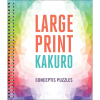 Front cover of the large print Kakuro  book